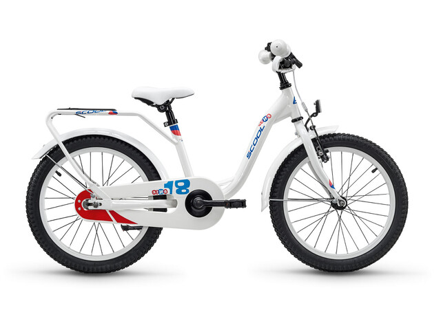s'cool niXe 18 steel White/Blue/Red